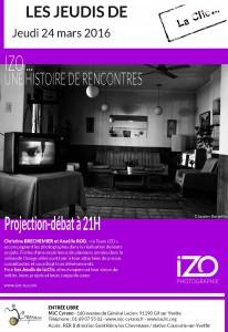 AFFICHE IZO-LA CLIC